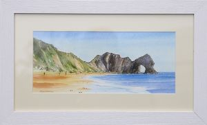 durdle door framed web